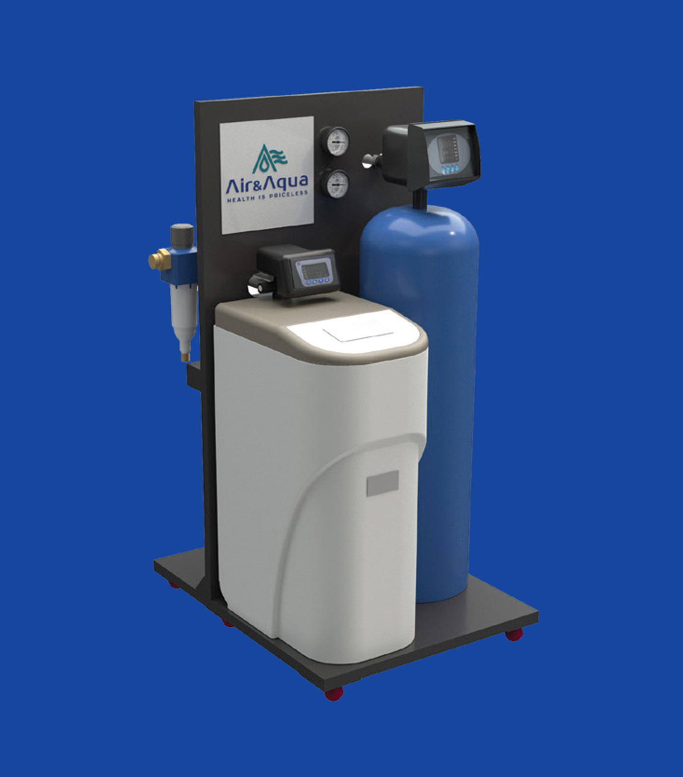 Hệ thống máy lọc đầu nguồn AQUA iG - SX